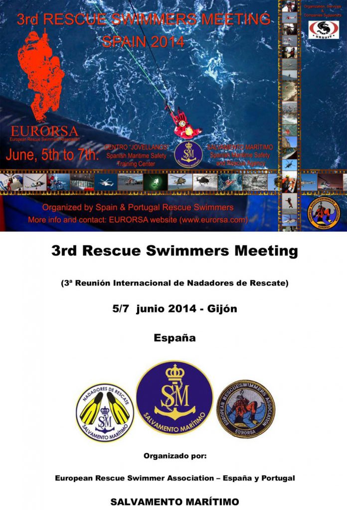 Proditech Tercer Encuentro Internacional de Nadadores de Rescate de Helicóptero 2014
