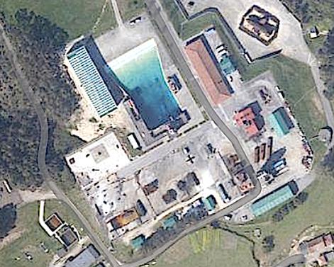 Instalaciones Centro Jovellanos - Vista aérea