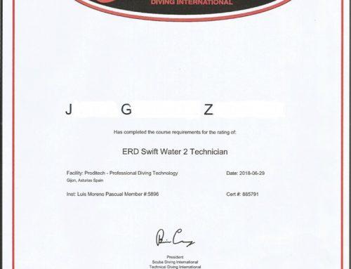 CURSO DE RESCATE EN RIOS, RIADAS, INUNDACIONES, NIVEL 2 TECHNICIAN SWIFT WATER . Certificación y Título Internacional de ERDI con estándares de la NFPA