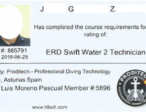 CURSO DE RESCATE EN RIOS, RIADAS, INUNDACIONES, NIVEL 2 TECHNICIAN SWIFT WATER . EN CADA CURSO E.R.D.I HAY 3 NIVELES : 1- AWARNESS 2- OPERATIONS 3- TECHNICIAN Certificación y Título Internacional de ERDI con estándares de la NFPA
