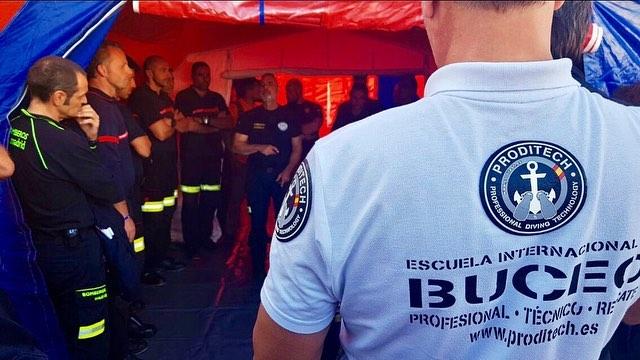 Reunión de seguridad del Servicio de Prevención, Extinción de Incendios y Salvamamento.