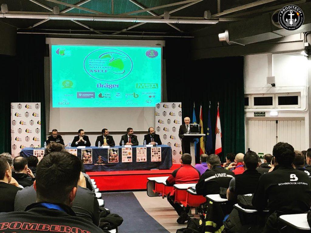 Inicio del 26 congreso nacional de bomberos - ERDI