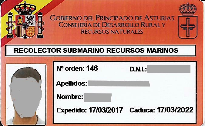 Titulación #Buceador #Profesional #Recolector Submarino Recursos Marinos #centrojovellanos . Válida en todo territorio del Estado Español