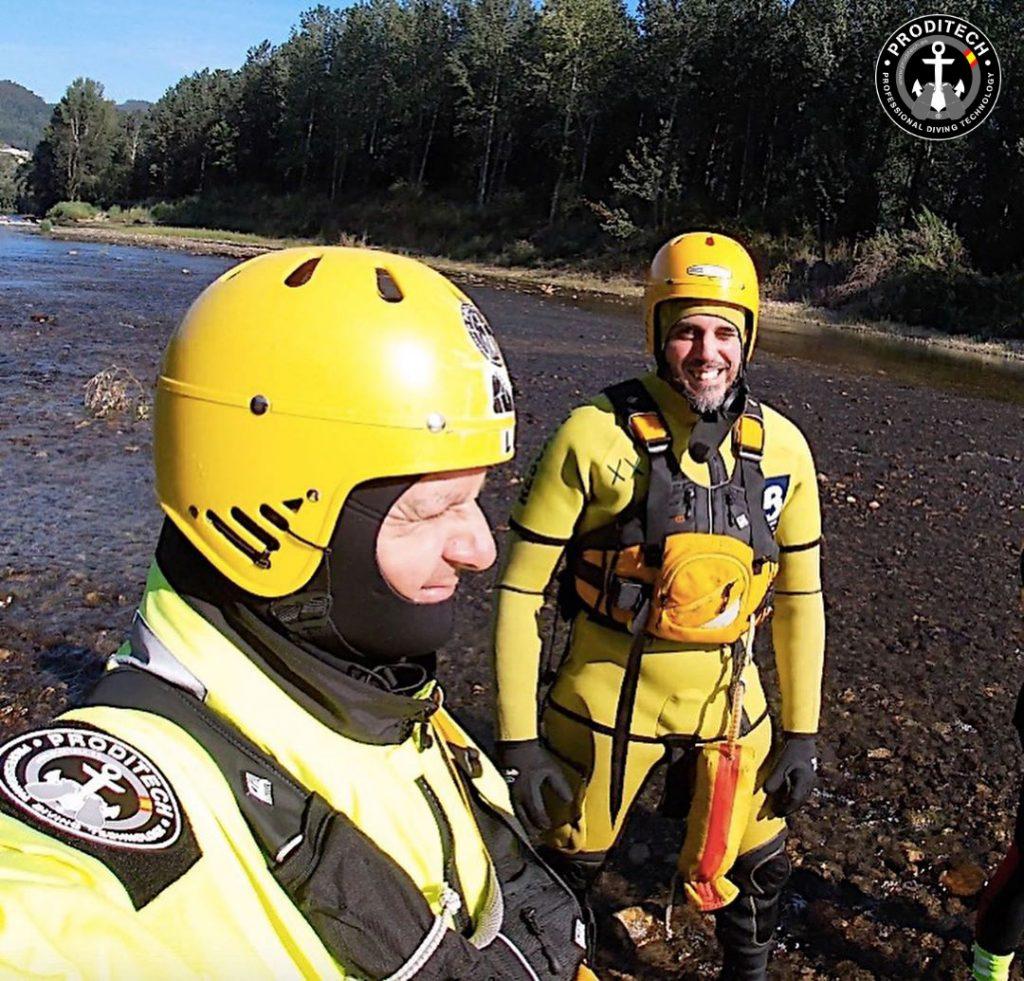 Curso rescate en rios y riadas