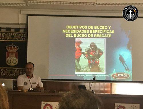 VII Jornadas de Rescate Acuático y Subacuático, Guadalajara, Sacedón 2019